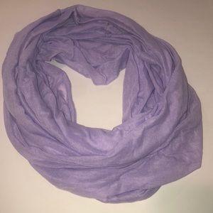 Purple Infinity Scarf